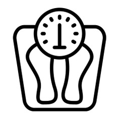 See more icon inspiration related to weight, scale, miscellaneous, wellness, body scale, weight scale, weigh scale, weighing scale, electronics and tool on Flaticon.