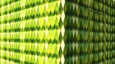 Close look of green public toilets #bright #architecture #art #exterior #buildings