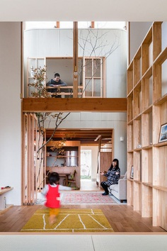 Minimalist Family Home in Osaka Defined by a Perfect Indoor-Outdoor Experience 7