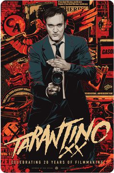 TARANTINO #movie #taylor #vector #ken #illustration