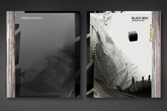 BLACK BOX - STATIONS OF A FLIGHT / Diploma Project on the Behance Network #print #design