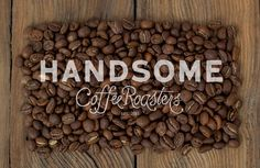 Handsome_Coffee_logo #coffee #design #handmade
