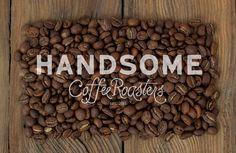 Handsome_Coffee_logo #design #coffee #handmade