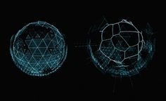 David Lewandowski Animation. #program #visualization #orb #tron