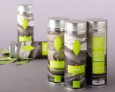 Green tea on Behance