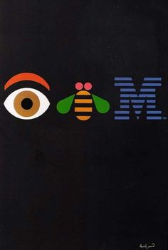 IBM by Paul Rand #symbol #design #graphic