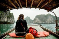 traveling for adventure #sleeping #sea #travel #boat