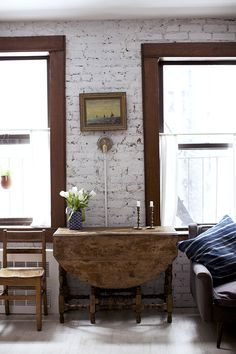 alphabet city | sfgirlbybay #interior #brick #design #decor #wall #deco #decoration