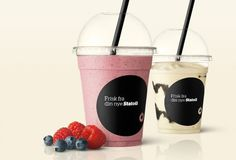 Scandinavian Design Group #packaging #milkshake