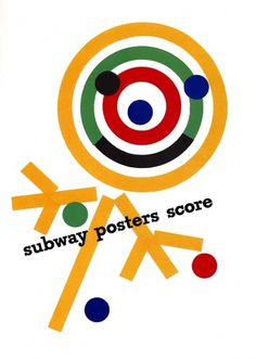 subway.jpg 800×1,122 pixels #paul #rand #posters #advertising