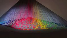 Refractive Monolith | Fubiz™ #strings #colors #monolith