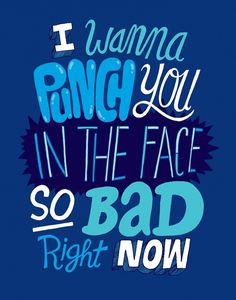 Zéro #lettering #quote #poster #blue #typography