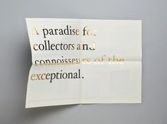Mother Design #gold #foil #typography