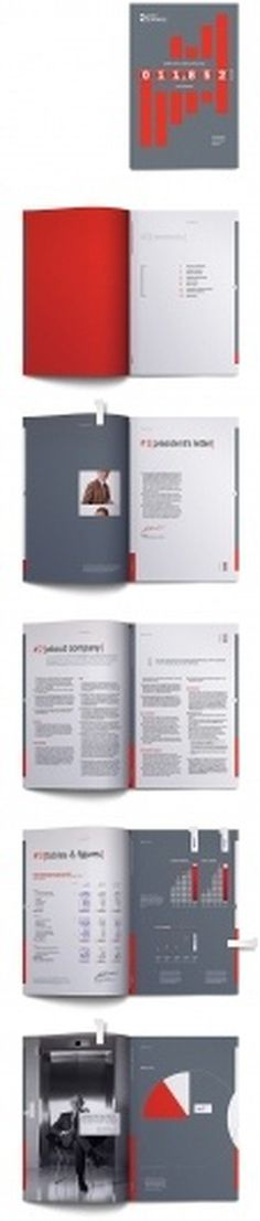 105 Best Annual Report Design Inspiration at DzineBlog.com - Design Blog & Inspiration #awesome