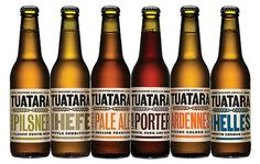 Tuatara #packaging #beer #label #bottle