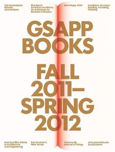 GSAPP Books: Image 3 (enlarged) #pubdesign