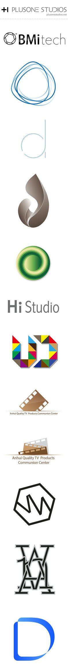 logo design of plusone studios