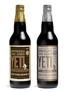 Great Divide Yeti #packaging #beer #bottle