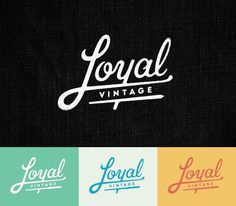 Loyal #roka #lettering #branding #alex #type #typography