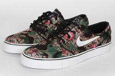 nike sb janoski floral digi camo 1 #camo #nike #sneakers #shoes