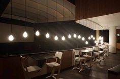 08 #interior #lamps #restaurant