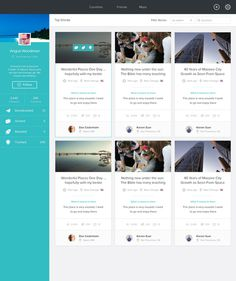 Stories_flag #dashboard #cards #web