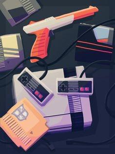 via Insanelygaming om Tumblr - Nintendo Poster #nintendo #retrogaming #oldschool