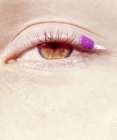eye #make up #eye #pink