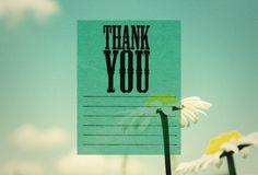 thankya | Flickr - Photo Sharing! #you #photo #design #thank #vintage #end #benedikt #gansczyk