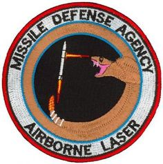 MISSILE DEFENSE AGENCY AIRBORNE LASER