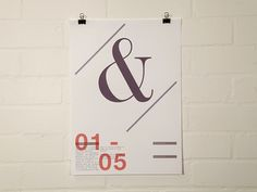 Clik clk – Blog d'inspiration » Craig Scott #design #graphic #poster #typography