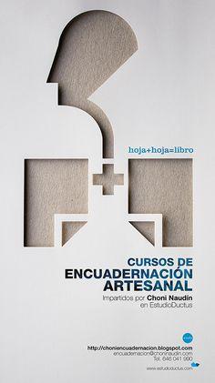 lunes, 11 de febrero de 2013 #choni #naudin #ruben #rodriguez #design #workshop #lungs #bookbinding #poster #ductus #reliure