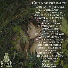 I am a Woman, a Wombkeeper and Priestess of the Earth. #motherearthismytemple