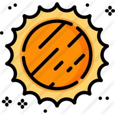 See more icon inspiration related to sun, summer, weather, warm, shapes and symbols, miscellaneous, summertime, sunny, meteorology and nature on Flaticon.