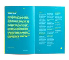 Leo Burnett Dept. of Design Booklet #print #layout #grid #spread #helvetica