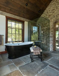 The Creamery is a Stunning Family House Built on the Stone Structure of a 1800s-era Dairy Barn 7