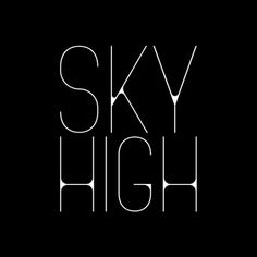 SKY HIGH on the Behance Network #logo