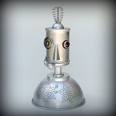 Ground Control to Major Tom robot nightlight | iainclaridge.net #homemade #robot