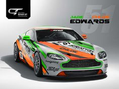 Aston Martin Race Car Livery #automotive #design #vibrant #livery #aston #car #race