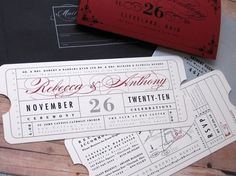 Invites & Save The Date Inspiration | Something Navy