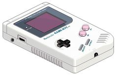 FFFFOUND! | New message from Mum! #8bit #old school #game boy