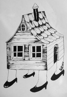 new drawing i just finished. india ink on bfk