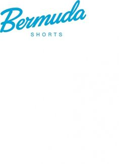 Bermuda Shorts Rebranding - 1 #mark #type #logo