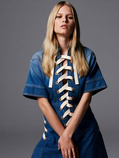 Anna Ewers por Daniel Jackson para Vogue UK Fevereiro 2015 #inspiration #photography #fashion