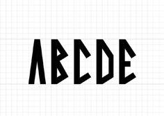 Font - Viking - Nicolasfuhr #font #typography #amsterdam
