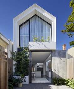 Tom Robertson Architects Turned Dark Workers' Cottage into a Contemporary Family Home