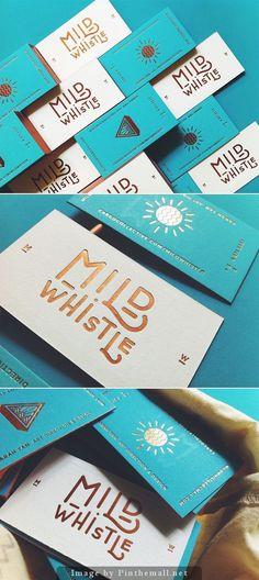 Mild Whistle #lettering #branding