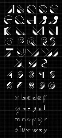 typography design on the Behance Network #isac #letters #loreta #alphabet #type #typography