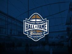 #football #halloffame #badge #logo #NCAA
