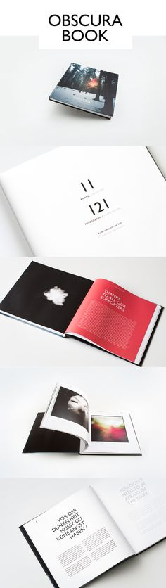 OBSCURA BOOK – 121 Views / LAUNCH on Behance #layout #graphic design #book #photography